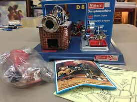 d8 live steam engine toy new in the box