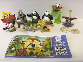 kung fu panda 3 limited edition complete set
