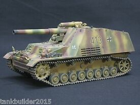dragon sd kfz 165 pro built and painted 1 35