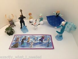 frozen girls toys limited edition full set