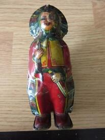 chein 1930s tin litho wind up native