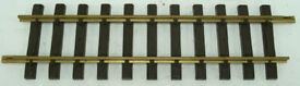 10000 12 inch brass rail straight track