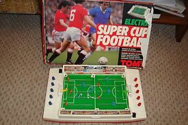vintage tomy super cup football game fully