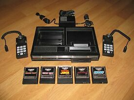 colecovision with 5 games