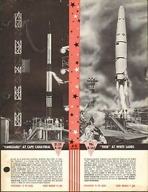 vintage ad sheet 1442 ho scale thor space