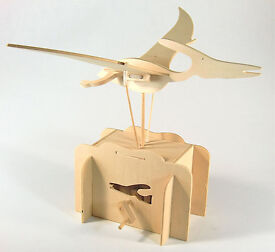 new flying pteranodon working wooden