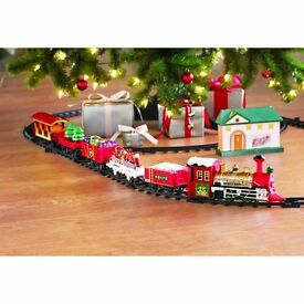 holiday express train set 135cm x 76cm