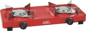 NEW TEXSPORT 14205 DOUBLE BURNER CAMPING PROPANE CAMP STOVE 7918238