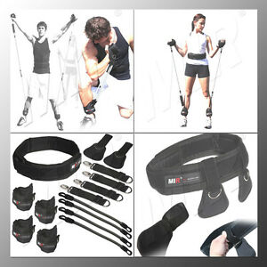 MiR Pro Ab fitness power speed Resistance band workout kits Strong exercise band