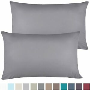 1200 SERIES PILLOWCASES 2 Pillow Cases Per Set. King Size Standard Size SALE $8.99