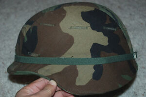 ORIGINAL US ARMY ISSUE PASGT KEVLAR HELMET - SMALL