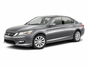 Honda : Accord EX-L EX-L New 3.5L CD GRAY  SEAT TRIM MODERN STEEL METALLIC Keyless Start Fog Lamps