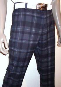 (010) Nike Dri-Fit Fashion Performance Plaid Golf Pants Mens: 3634 $85