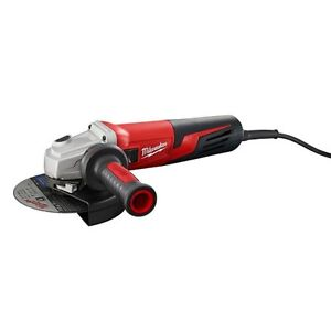 Milwaukee 6161 33 13 Amp 6 in. Small Angle Grinder Slide Lock On IN STOCK $158.94