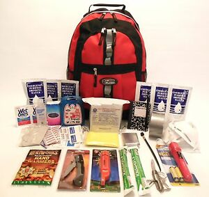 Emergency Disaster Survival Kit with 3 Day Food & Water 5 Yr Shelf Life Bug Out