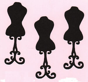 Victorian Dress Form Die Cuts 6