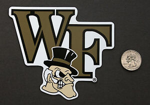 WAKE FOREST DEACONS CAR REFRIGERATOR MAGNET NCAA BASKETBALL FOOTBALL TAILGATE