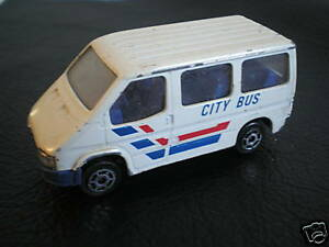 majorette ford transit 1 60 n 243 city bus