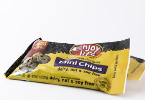 Enjoy Life Mini Chips Semi Sweet Chocolate Pack of 2 New Packaging