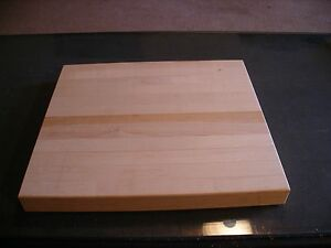 HAND MADE SOLID MAPLE CUTTING BOARDS
