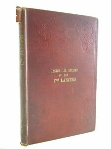 HISTORICAL RECORD OF THE SEVENTEENTH REGIMENT OF LIGHT DRAGOONS LANCERS - Cannon