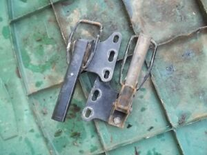 2006 KAWASAKI MULE 950 DIESEL 4WD KAF950B BED CLAMPS LEFT RIGHT CLAMPS $34.00