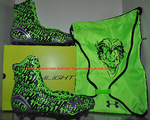 Under Armour Alter Ego JOKER Highlight MC Clutchfit Football Cleats Mens Szs NIB