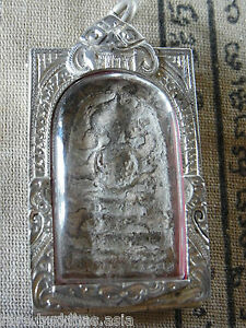 Phra Somdej Toh Bangkhunprom Buddha year 2411-2413 Real Silver case AAAA+