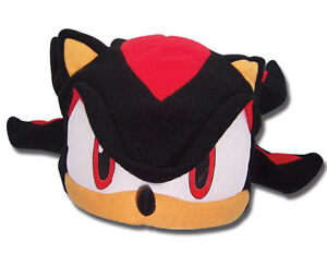 REAL  Shadow Fleece Cosplay Cap (GE-2335) - Official Sonic the Hedgehog Series