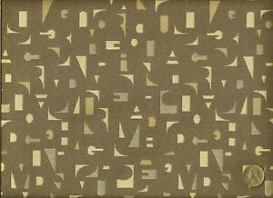 Arccom Chit Chat Sand Contemporary Abstract Geometric Grays Upholstery Fabric $19.95