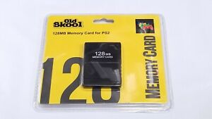 Old Skool PlayStation 2 PS2 128MB Memory Card ** BRAND NEW ** $11.99