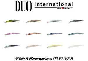 DUO Tide Minnow Slim 175 Flyer Saltwater Sinking Lure Select Color s