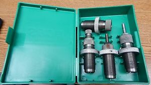 RCBS SIZER 44 SPECMAG RELOADING 4 DIE SET WITH BOX VERY NICE LQQK