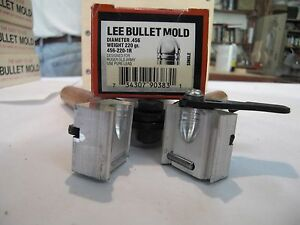 Lee Bullet Mold with Handles 456  Single Cavity Ruger old army