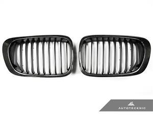 NEW CARBON FIBER REPLACEMENT FRONT GRILLE FOR 2001 2006 BMW M3 E46 $189.94