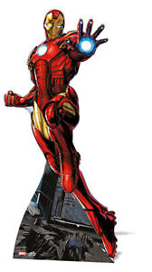 IRON MAN MARVEL THE AVENGERS MINI CARDBOARD CUTOUT STAND UP FUN SIZE FOR FANS GBP 17.29