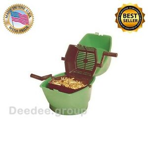 Case Media Separator Rotary Reloading Ammo Brass Arsenal Hunting Outdoor Basket
