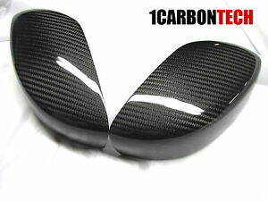 CARBON FIBER MIRROR COVERS FITS INFINTI 08 13 G37 COUPE 15 16 Q60 $99.89