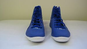 New! Womens Under Armour Micro G Basketball 1256436-400 Size 6 BlueWhite   29C
