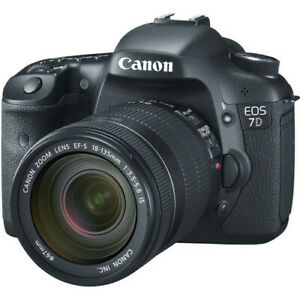 Canon EOS 7D Digital SLR Camera with EF-S 18-135mm f3.5-5.6 IS Lens Kit NEW