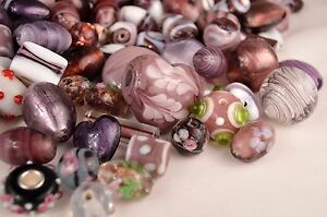 10mm to 24mm Mixed Glass Lampwork Beads $5.49