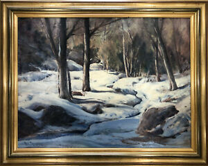 Original Painting by Paul Lauritz... Titled on back