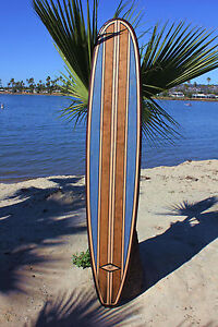 Vintage Wood Art Surfboard Bar Top Wall Decor Hawaiian Tiki Bar Decor