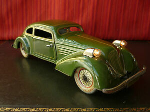1930 jd 3058 tin wind up streamline coupe deluxe