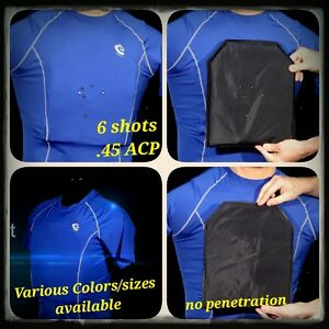 Level IIIA Bulletproof Compression Shirt (FRONTBACK)