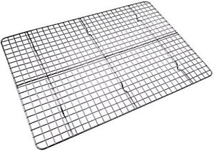 Checkered Chef Stainless Steel Cooling Baking Rack. Fits Half Sheet Cookie Pan
