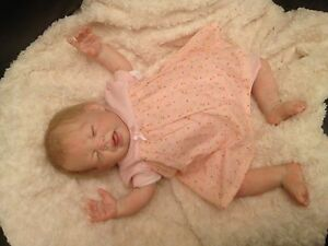 realistic reborn baby anna from donna rubert