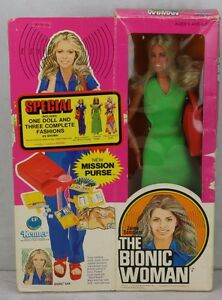 1977 kenner bionic woman special edition 3 outfits