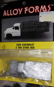 ho scale alloy forms 1955 chevrolet 2 ton