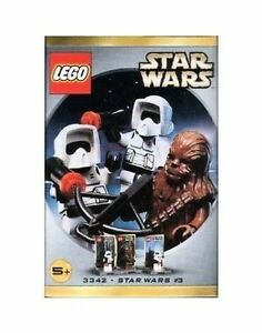 Lego Star Wars #3342 Mini Fig 3 Chewbacca & Two Biker Scours New Sealed
